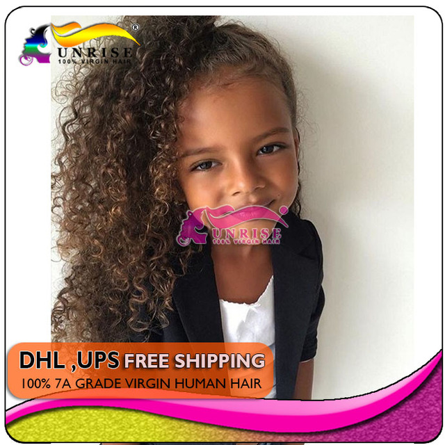 Kids brown kinky curly human hair ponytail hair extension clip in kids brown kinky curly human hair ponytail hair extension clip in natural hair afro ponytail hairpiece pmusecretfo Image collections