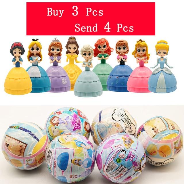 5 Polegada Surpresas Princesa Figuras de Ação LOL LOL Bonecas Em PVC Bola de Brinquedo Bola Brinquedo Comprar 3 Pcs Enviar 4 Pcs