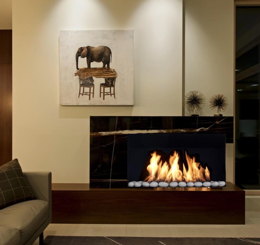 Inno Living Fire 36  Inch Chiminea Indoor Fireplace Bio Ethanol