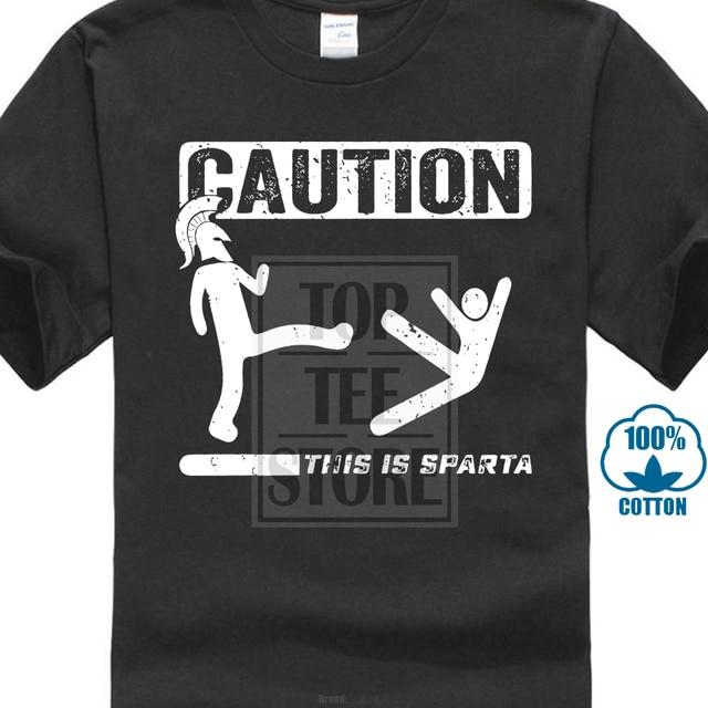c88935b56 100% Cotton T Shirts Brand Clothing This Is Sparta Funny T Shirt Greece  Sparta Spartan Humor Tee Shirt Men S Shirt