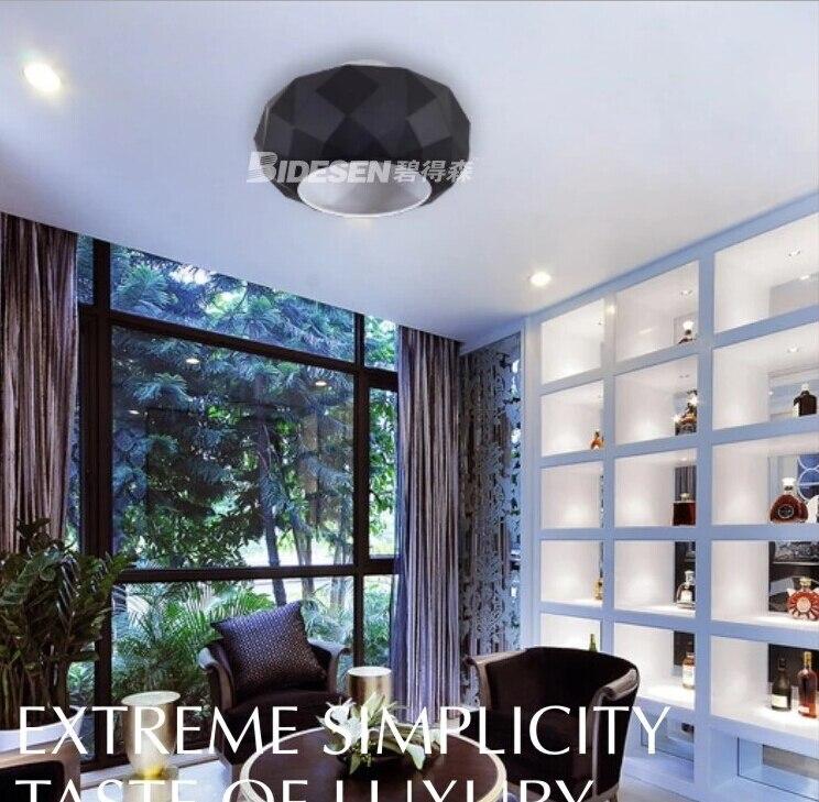 Moderne Diamant Design Deckenleuchten Glas Wohnzimmer Beleuchtung ...