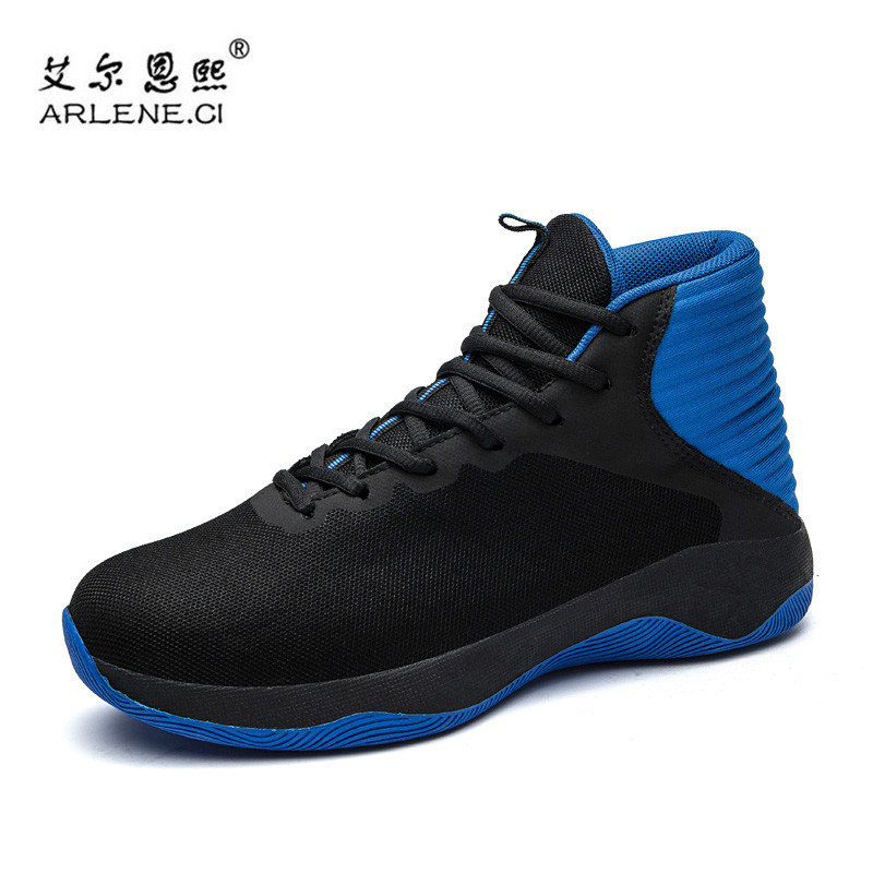 2018 High Top Men Basketball Shoes Men Lace Up Basket Homme Sneakers Male Gym Trainers Athletic Wearing Sports Shoes Ultra Boost