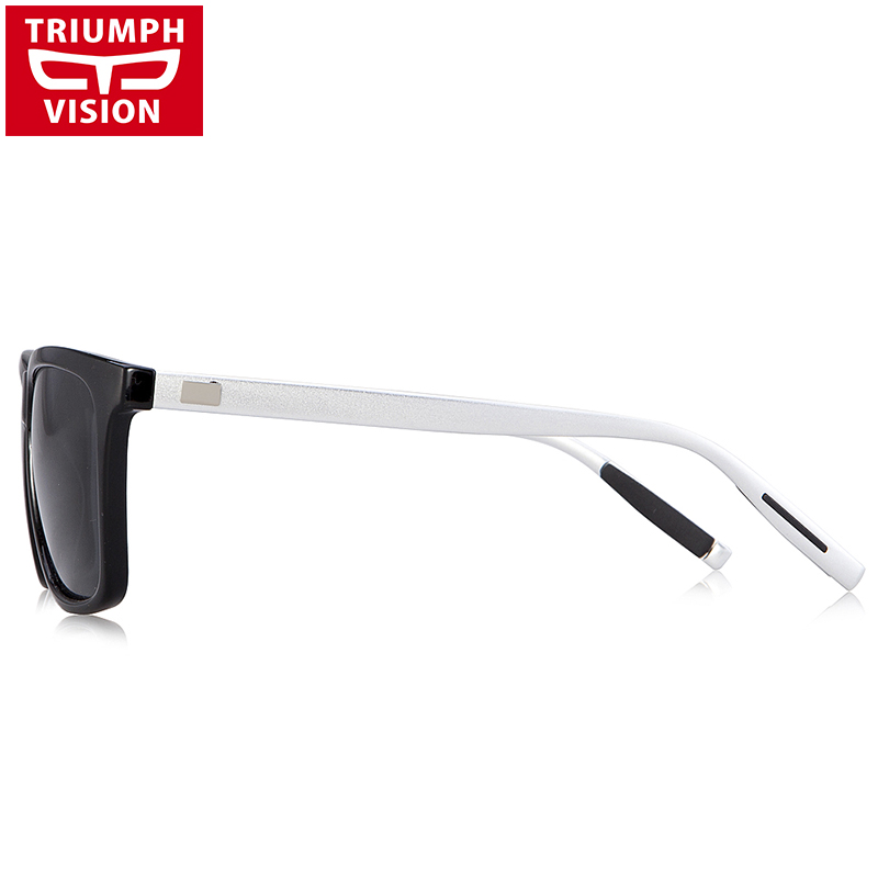TRIUMPH VISION Μαύρα τετράγωνα γυαλιά ηλίου - Αξεσουάρ ένδυσης - Φωτογραφία 4