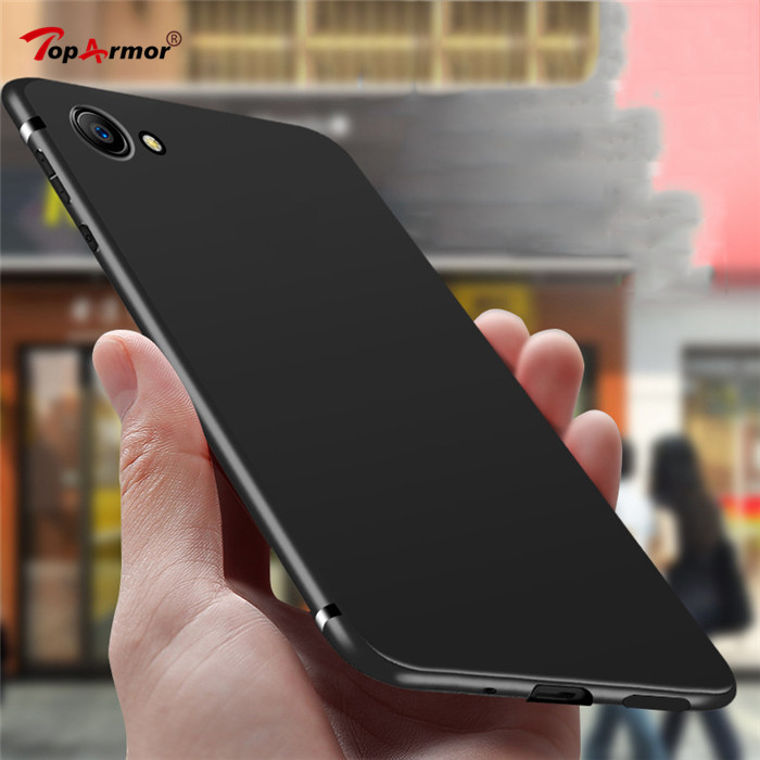 Matte Soft TPU Silicone Frosted Cover For <font><b>Oppo</b></font> A31 <font><b>A33</b></font> A35 A37 A53 A57 A59 A71 A73 A77 A79 A83 A5 A7 F7 F9 Realme1 Mobile <font><b>Cases</b></font> image