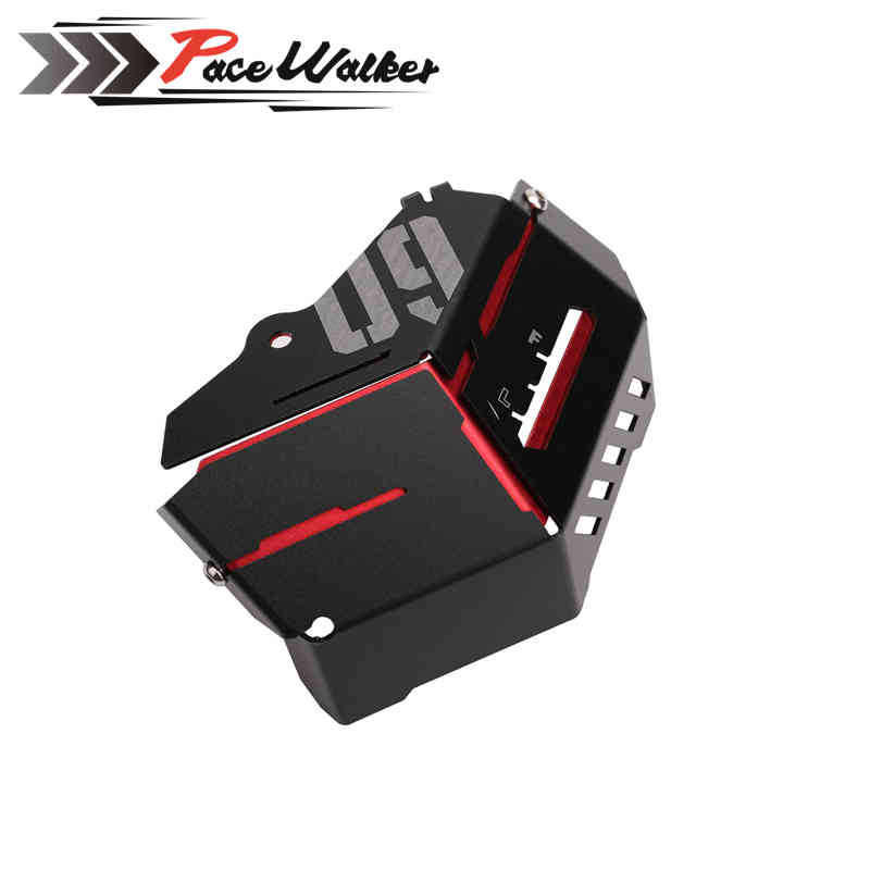 For Yamaha MT-09 FZ-09 MT FZ 09 MT09 FZ09 2014 2015 motorcycle Coolant Recovery Tank Shielding Cover for yamaha mt 07 mt 07 fz07 mt07 2014 2015 2016 accessories coolant recovery tank shielding cover high quality cnc aluminum