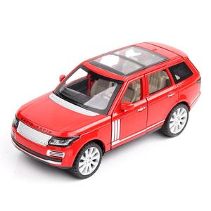 Image 2 - 1:24 Auto Giocattolo di Qualità Eccellente Range Rover Auto In Lega Auto Giocattolo Giocattoli pressofusi e veicoli Modello di Auto Giocattoli Per I Bambini
