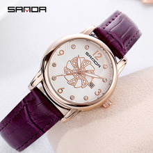 watch women  womens watches 2018 gifts Quartz Buckle Diver Water Resistant Leather fashion