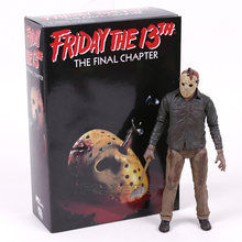 NECA Friday the 13th Het Laatste Hoofdstuk Jason Voorhees PVC Action Figure Collectible Model Toy 7 inch 18 cm(China)