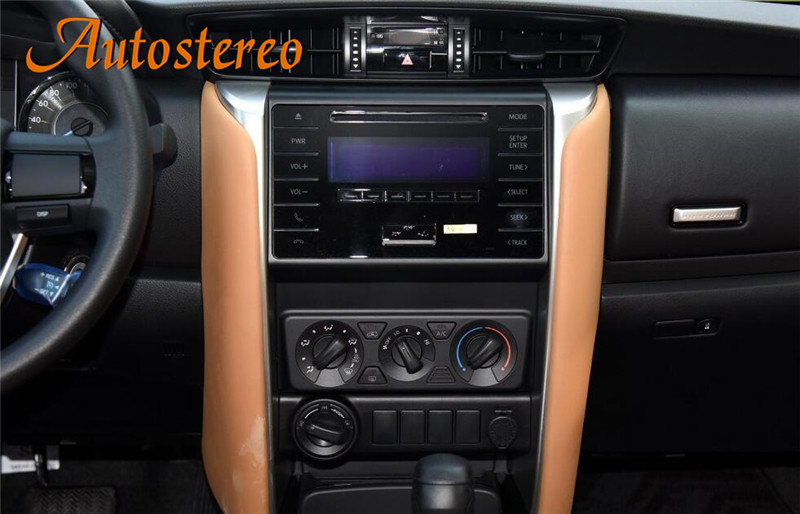 Top Android 8.0 Car No DVD Player GPS navigation For Toyota Corolla/Fortuner 2016+ Stereo Head unit Multimedia radio tape recorder 2
