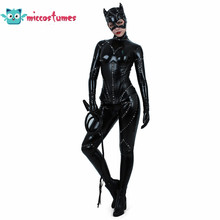 Cat woman Cosplay Costume Cat Suit Jumpsuit