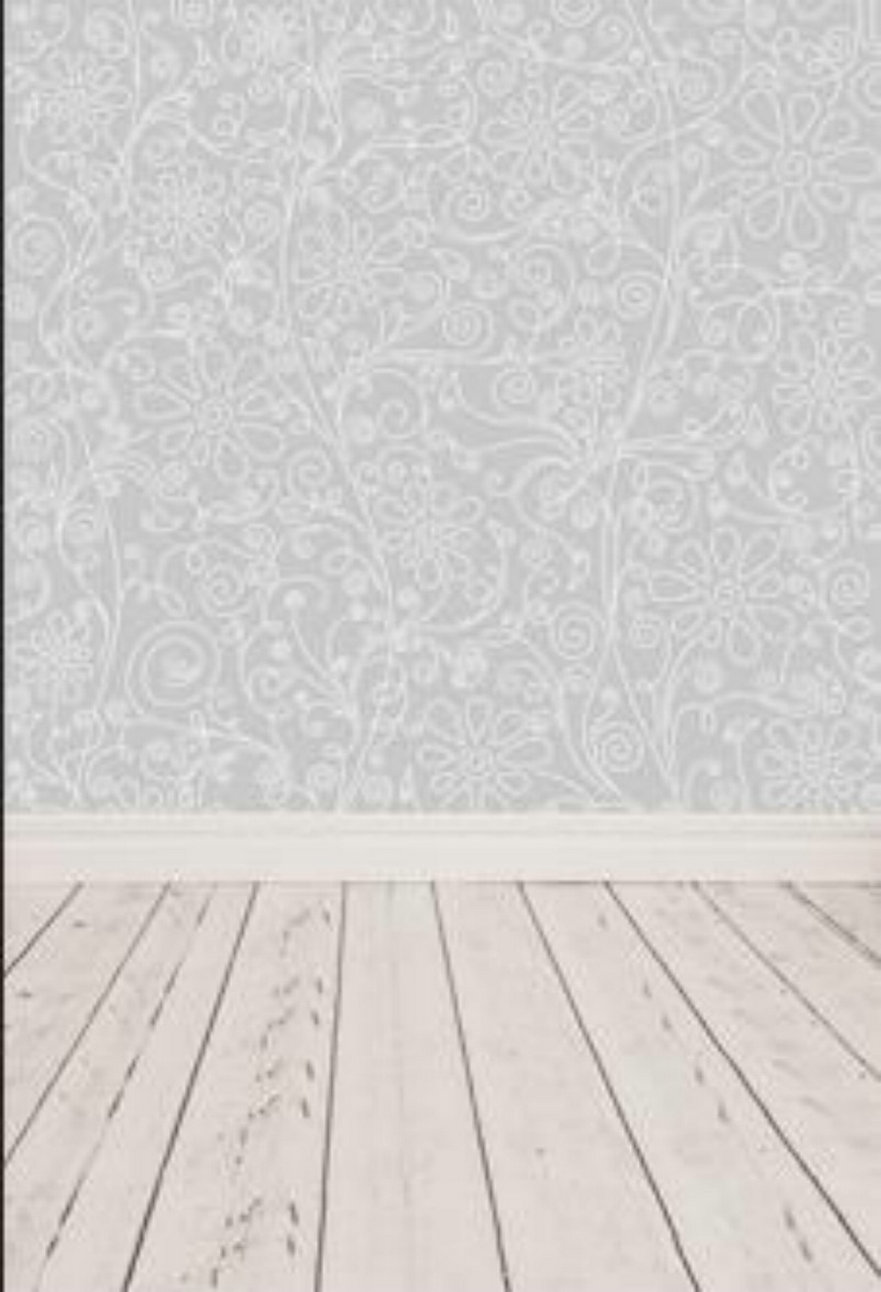 Gray Grey Flower Natural Real Hard Wood Floor photography background Vinyl cloth High quality Computer Print wedding backdrop
