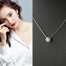 Six Claw CZ Mosaic Zircon Choker Pendant Necklace Jewelry