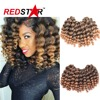 New arrival crochet braids synthetic hair extension 22Roots/pack Wand Curl 2X Bounce Marley Hair havana mambo twist hair