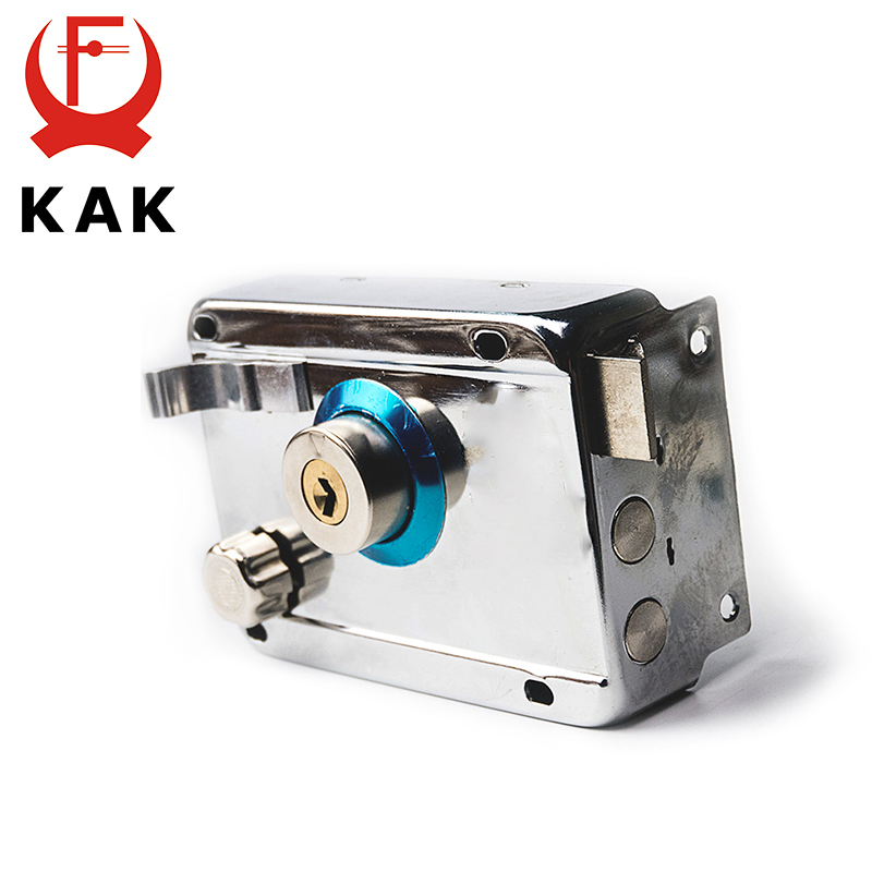 KAK-9331 Exterior Iron Door Locks Security Anti-theft Lock Multiple Insurance Lock Wood Gate Lock For Furniture Hardware free shipping dry battery rfid electronic door locks security anti theft lock multiple insurance lock with battery box