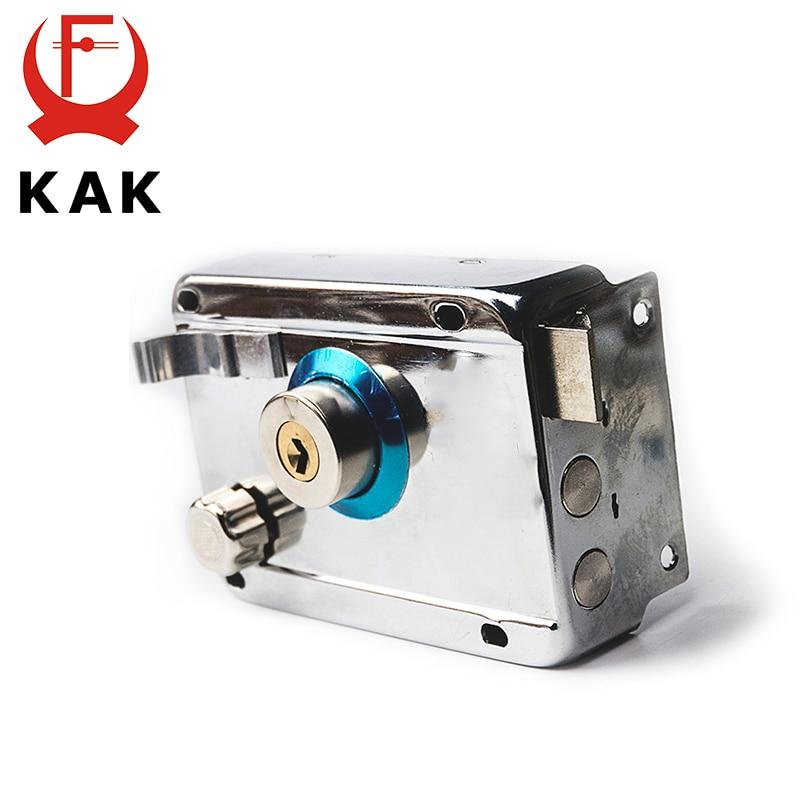 KAK-9331 Exterior Iron Door Locks Security Anti-theft Lock Multiple Insurance Lock Wood Gate Lock For Furniture Hardware