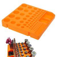 Caixa de armazenamento organizador recipiente bandeja titular para broca pinça ferramenta acessórios|Acessórios para ferramenta elétrica| |  -