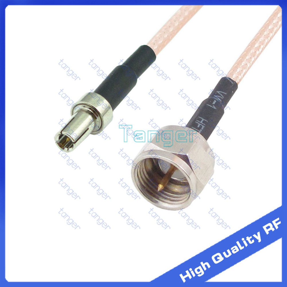 Connector Tang ⓪tanger Ts9 Male Plug To F Male Plug Straight With 20cm 8 Rf