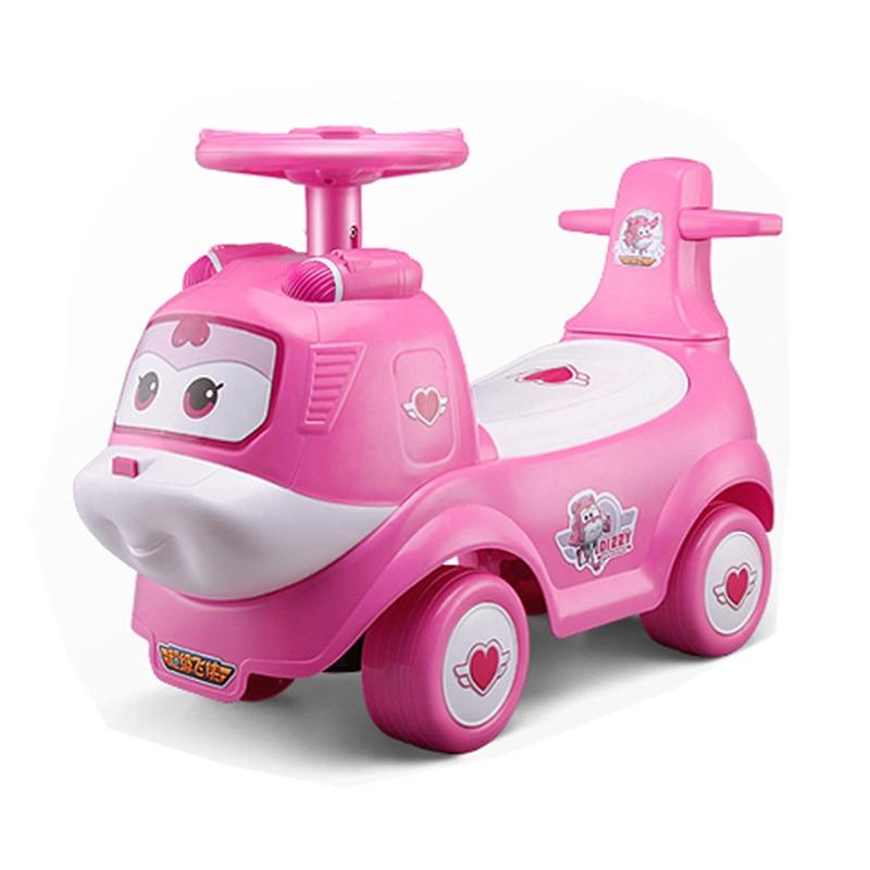 Enfants véhicule Scooter roulette voiture torsion équitation voiture marcheur petit bébé bébé tour sur les voitures pour les jouets de Sports d'intérieur en plein air - 2