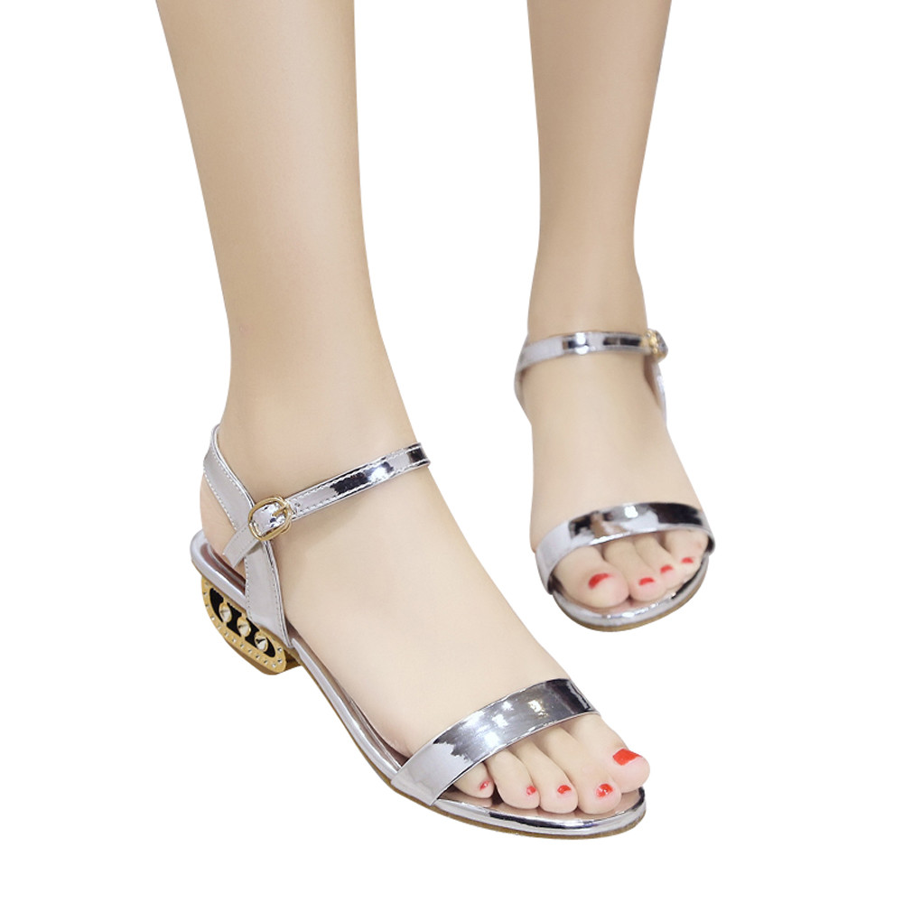 Detail Feedback Questions about 2018 Summer Women Sandals Open Toe Flip  Flops Women Big Size Shoes Thick Heel Women Shoes Korean Style Gladiator  Shoes on ... ca2dd2cea680