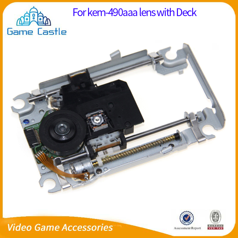 Laser Lens With Deck Mechanism KEM-490AAA KEM 490 AAA KES 490A Optical Pickups BDP-020 For PS4
