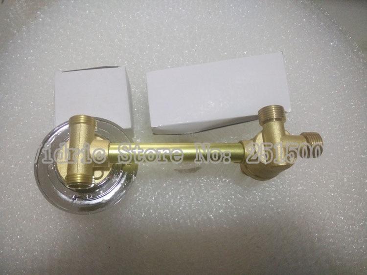 Robinet d'eau de valve de raccordement de filetage de 2 vitesses adapté aux besoins du client, barss de salle de bains 1 entrée 1 sortie poignée de robinet de valve de mélange de salle de douche