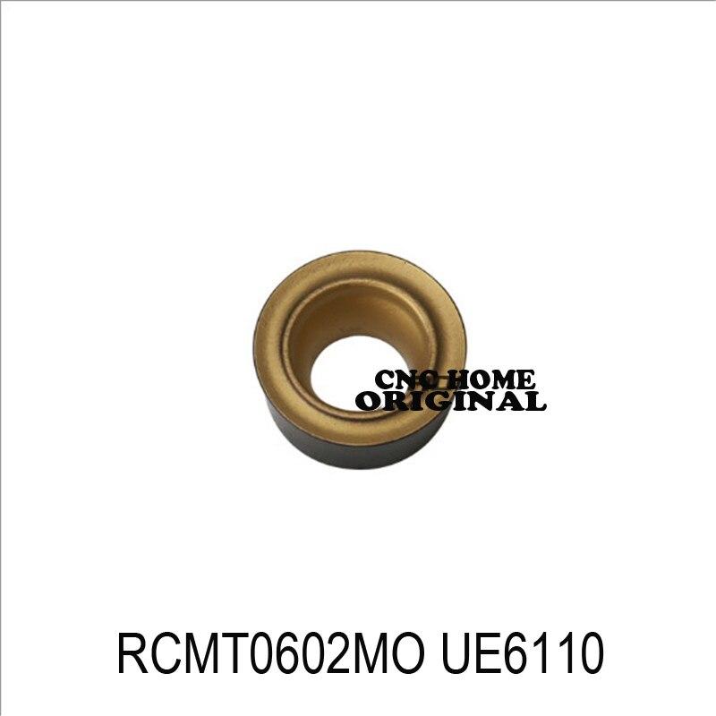 MITSUBISHI 10pc RCMT RCMT0602 RCMT0803 RCMT0602MO RCMT0803MO RCMX1003MO UE6110 Milling Insert Carbide Inserts Turning Lathe Tool