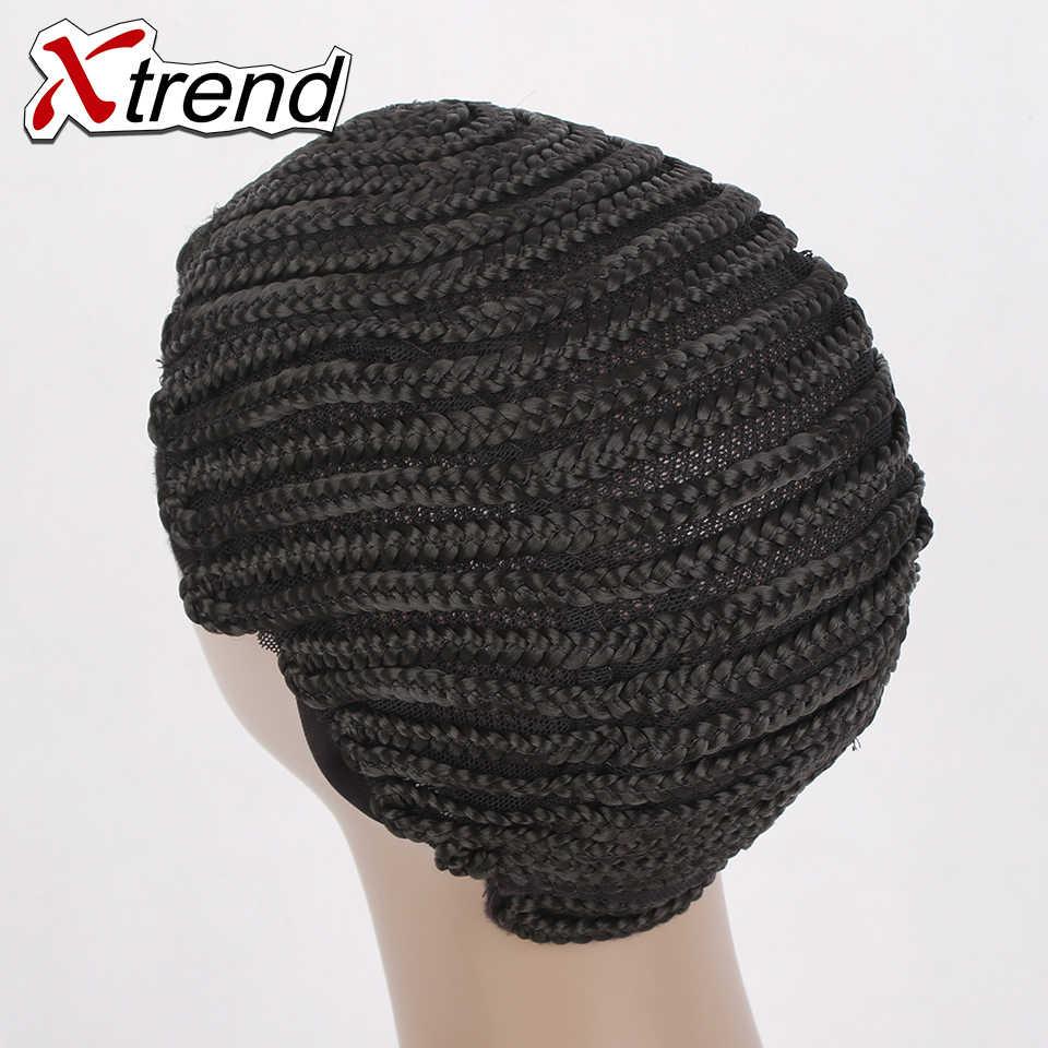 1-10 шт основа под парик Кепки для изготовления париков Регулируемый Черный Цвет крючком для плетения, ткачества Кепки кружево сетка для волос инструмент для укладки