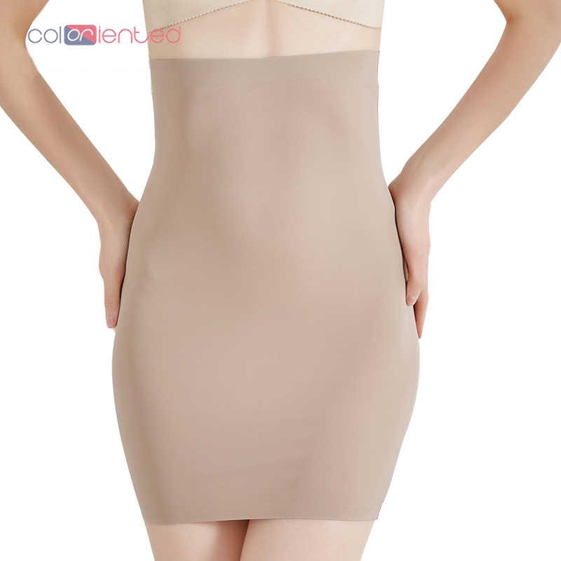 1ce12239dd5f3 COLORIENTED Wholesale Super Elastic Control Slips High Waist Shaper Women  Slimming Underwear Body Shaper Tummy Control