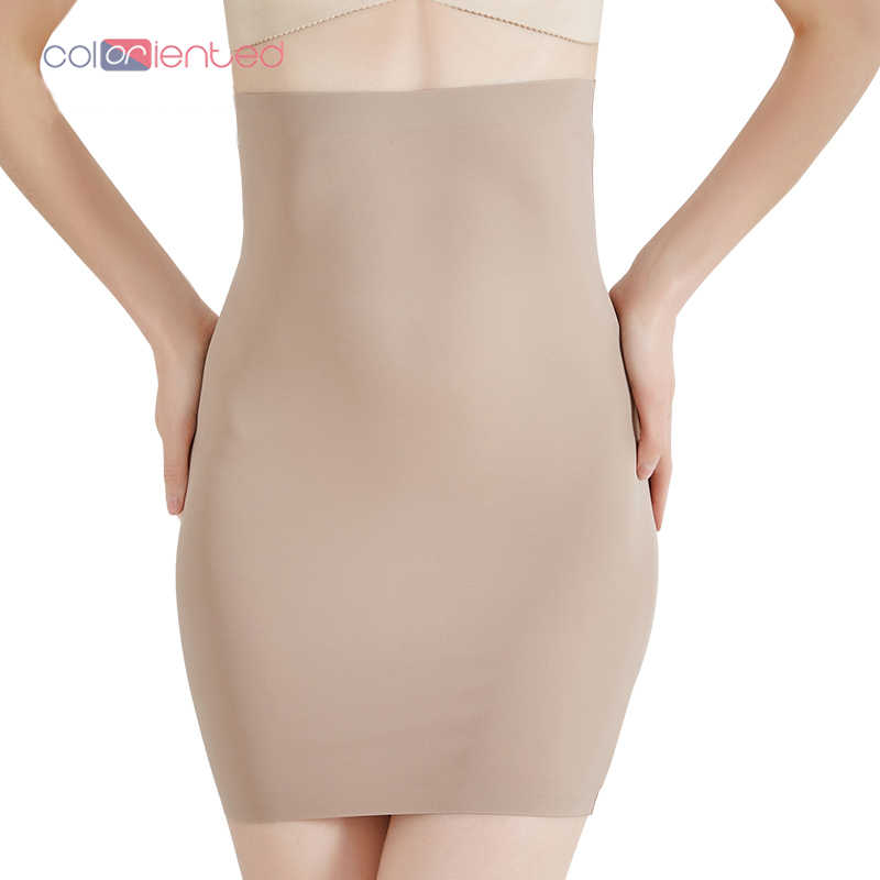 acf6e16fd83b COLORIENTED Wholesale Super Elastic Control Slips High Waist Shaper Women  Slimming Underwear Body Shaper Tummy Control