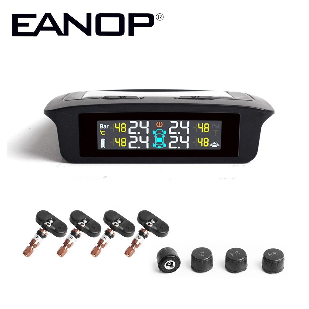 EANOP S700 Auto TPMS Tire Pressure Monitoring System reifen druck Interne sensor Bar Psi Auto ALarm für Universal Autos Lkw