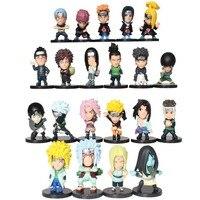 2016 Yeni 21 Adet S Versiyonu Anime Naruto Action Figure Oyuncaklar Gaara Uzumaki Sasuke Orochimaru Karikatür Oyuncak Modeli Çocuk Hediye