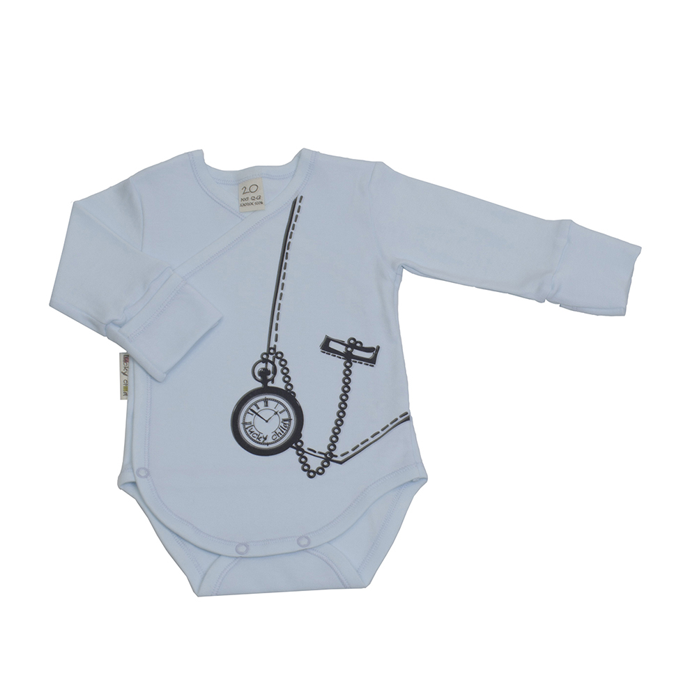Bodysuits Lucky Child for boys 3-5 Body Newborns Babies Baby Clothing Children clothes