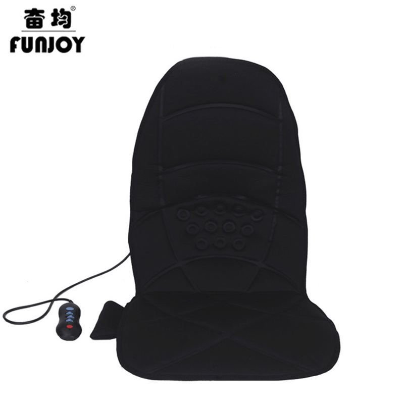 Electric Car home dual-use massage cushion Massage Chair Relaxation Pad Seat Auto Car  Body Back Neck Heat Vibrating massager biety vehicle car seat head neck rest cushion pillows grey 2pcs