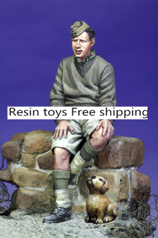 pre order-Resin toys   35079 British Armoured Crew #2 & Puppy Free shippingpre order-Resin toys   35079 British Armoured Crew #2 & Puppy Free shipping