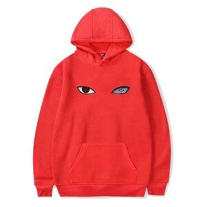 Image 5 - 2018 neue Ankunft Harajuku Anime Hoodies Naruto Uchiha Uzumaki Hatake Augen Druck Pullover Sweatshirt Hip Hop Streetwear