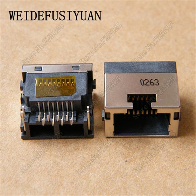 5pieces/lot New Laptop RJ45 Connector LAN Jack Ethernet port For ...
