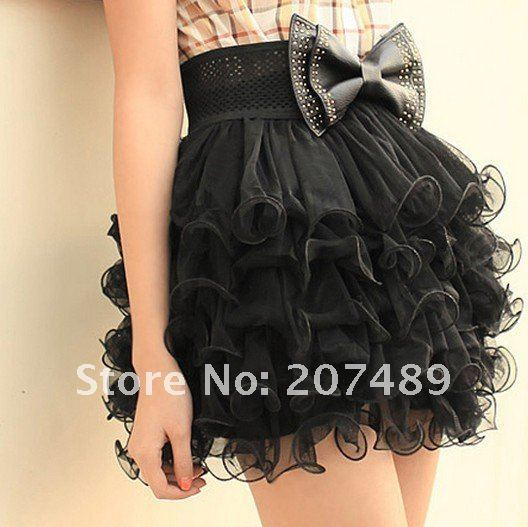 mini  Women lady girl ball gown skirts cake lace Unique Design Sexy Lace  Bottom mulit color cloth CN post