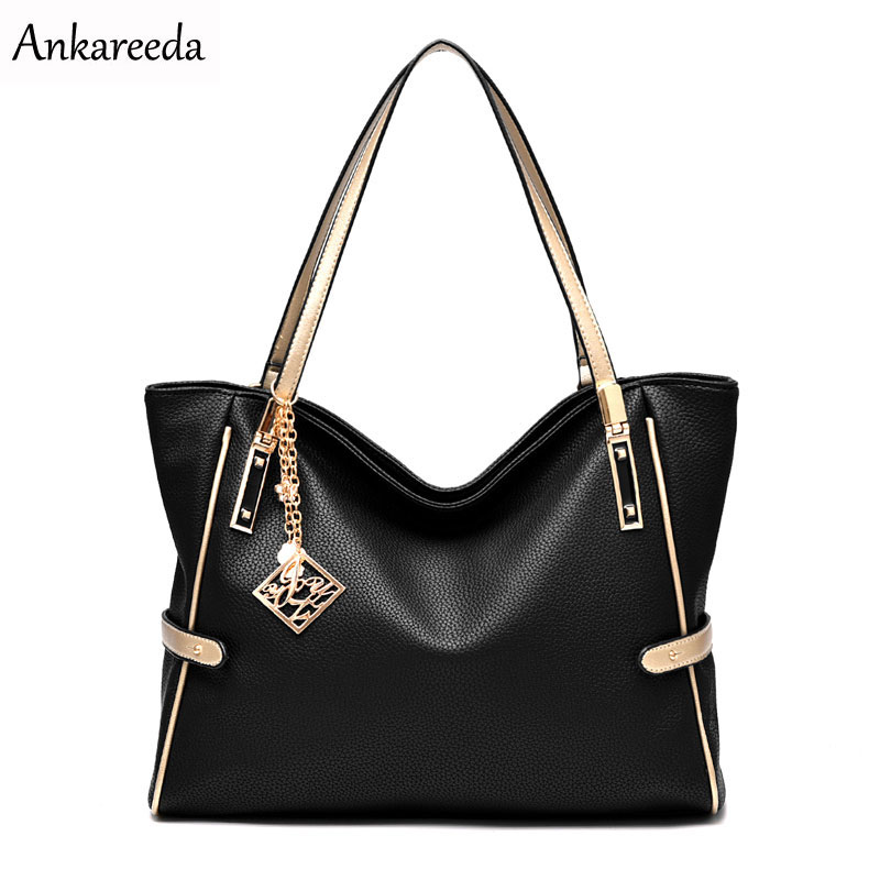 Ankareeda All Seasons Embossed Luxury Leather Bags Women Brand Famous - Beg tangan - Foto 1