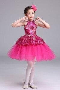 Image 5 - Ballet Tutu Dress Girls Gymnastics Leotard Dancewear Ballet Clothes Children Ballerina Costume Discount Ballet Tutus