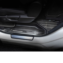 Lsrtw2017 Stainless Steel Car Anti-scratch Sill Threshold for Acura MDX 2014 2015 2016 2017