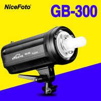 NiceFoto TGB-300 300 w Studio Flash tempo de reciclagem rápida GB 300 profissão Estúdio fotografia estúdio lâmpada luz