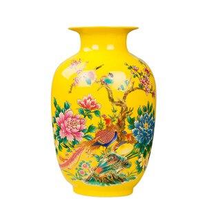 Image 5 - Jingdezhen 도자기 꽃병 세라믹 꽃 홀더 13 모델 홈 데스크 크리스마스 장식 선택