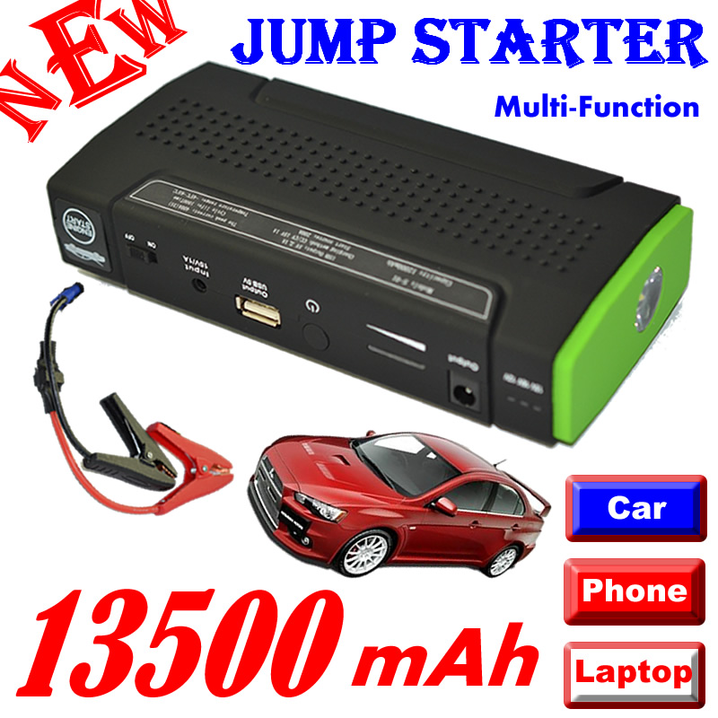 ФОТО 13500mAh 12V Multi-Function Mobile Power Bank For Tablets / Notebook / phone / car External Rechargeable Battery Backup Power