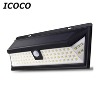 ICOCO Waterproof 80 LED Solar Security Light Motion Sensor Outdoor Lighting Wireless Ultra Bright for Driveway Yard Patio Deck