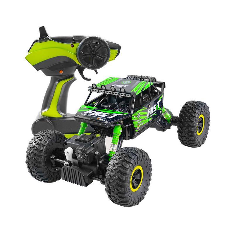 1:18 RC voiture à grande vitesse 2.4G quatre roues motrices escalade tout-Terrain voiture modèle enfants télécommande électrique jouet voiture tout Terrain