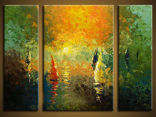 Custom Wall Art Canvas Huge Wall Decor Music Melody Canvas Painting ...