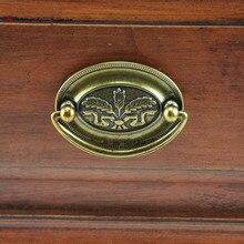 52mm 64mm vinatge style shaky drop rings drawer cabinet pulls knobs 2.5″ antique brass dresser door handles knobs retro pulls