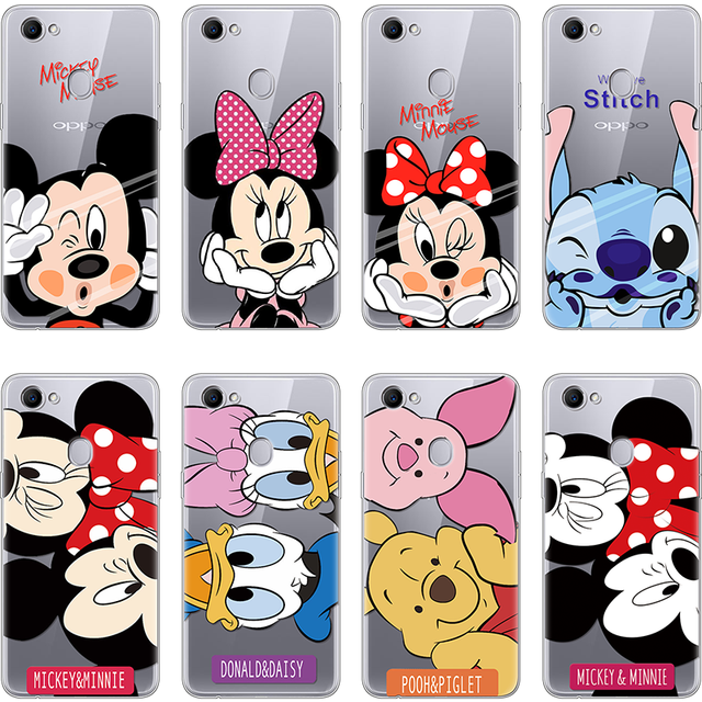 info for b1844 7eeb6 US $1.01 14% OFF|For Case OPPO F5 F7 F9 Silicone TPU Back Cover Cartoon  Mickey Minnie Ultra Thin Soft Clear Coque Printed For Fundas OPPO F9  Case-in ...