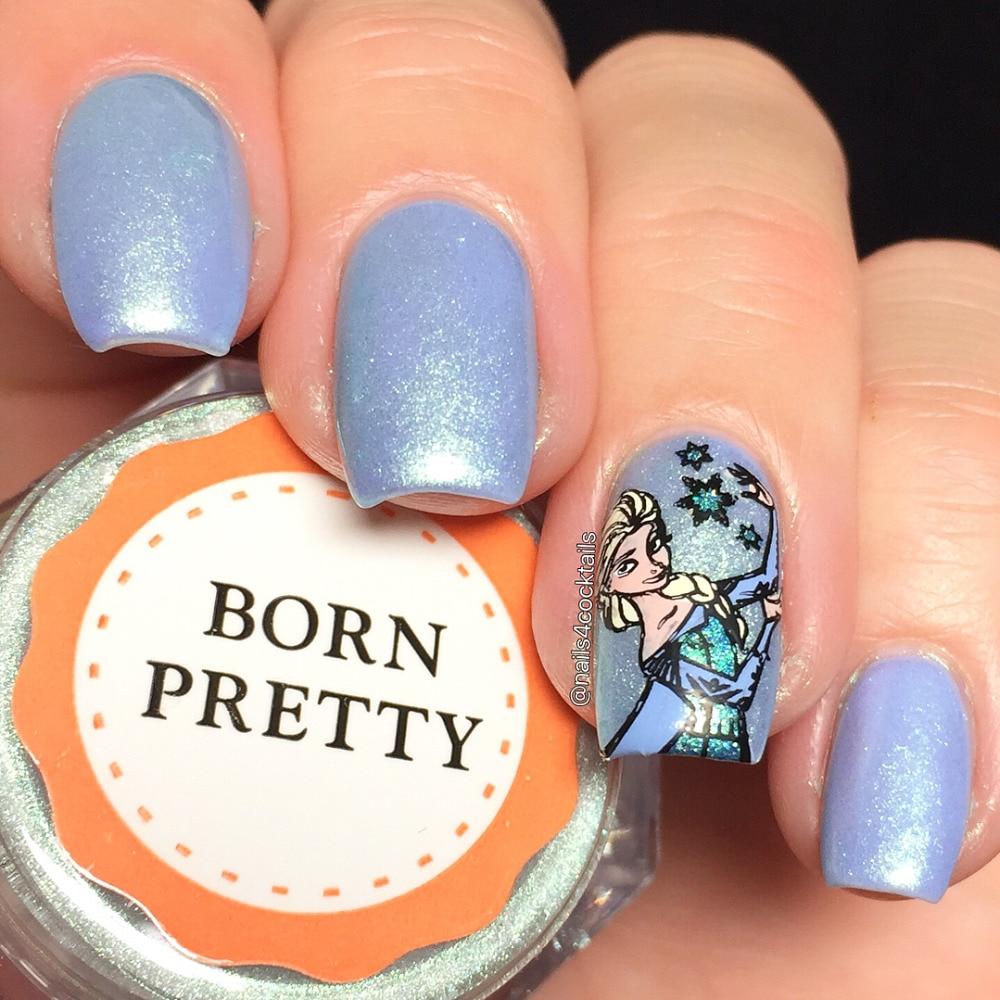 Mermaid Pearl Nail Glitter Poeder Mintgroen Cosmetische Oogschaduw