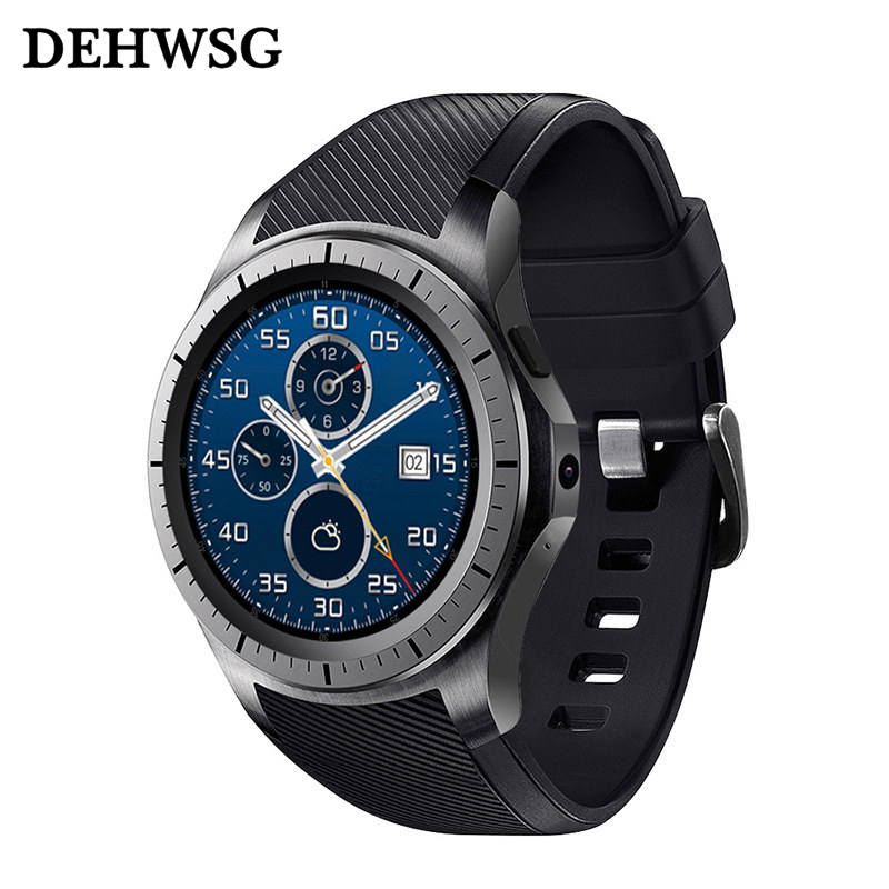 New Smart Watch GW10 Android SmartWatch GPS Bluetooth WiFi Heart Rate Fitness Tracker Support 3G SIM Card MTK6572 Smart Watches new lf17 smart watch